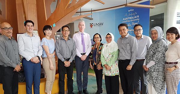 UNSW Rep Visit to Pondok Indah Campus